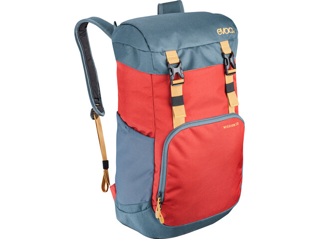 EVOC Mission Mochila 22L, chili red-slate